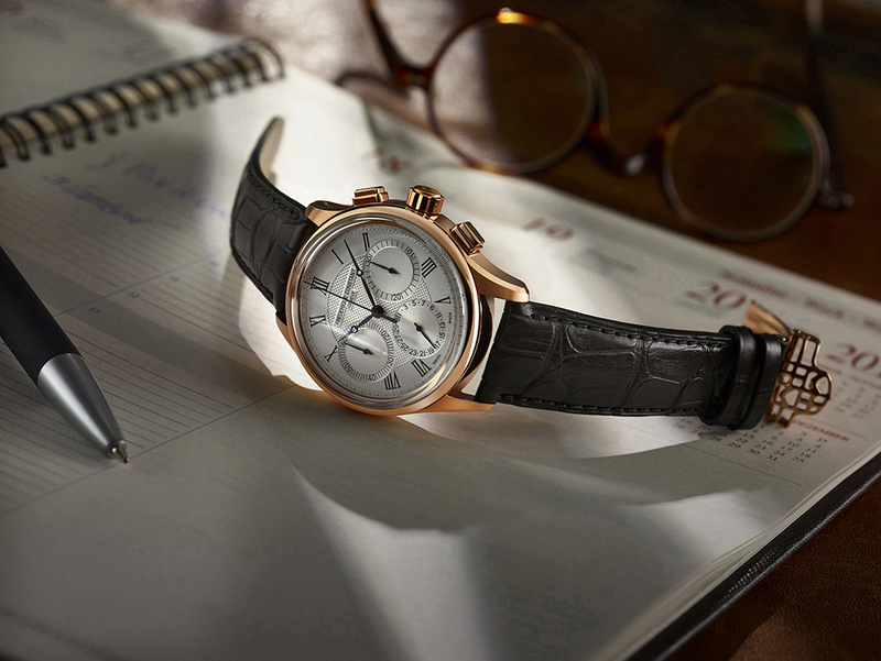 Frederique Constant Flyback Chronograph Manufacture cadran argent