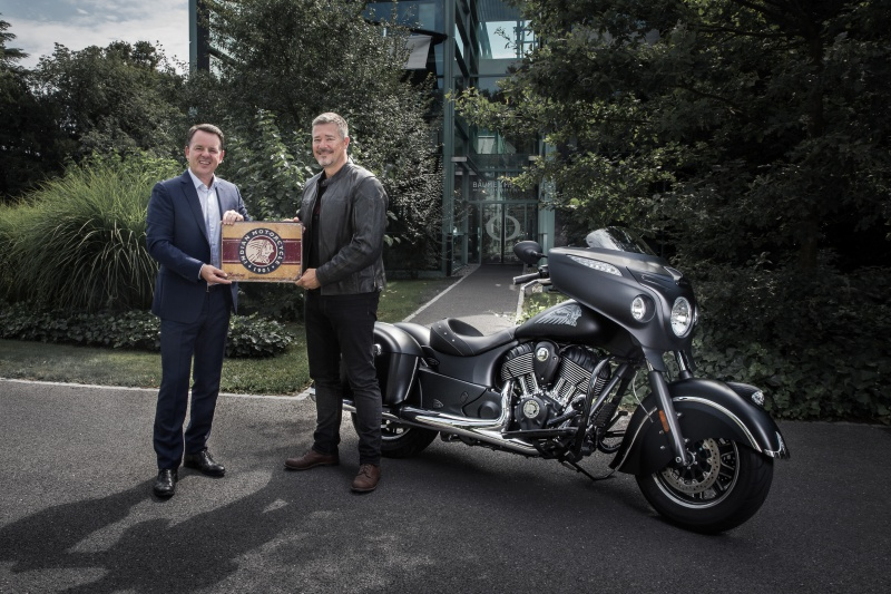 Baume & Mercier et Indian Motorcycle