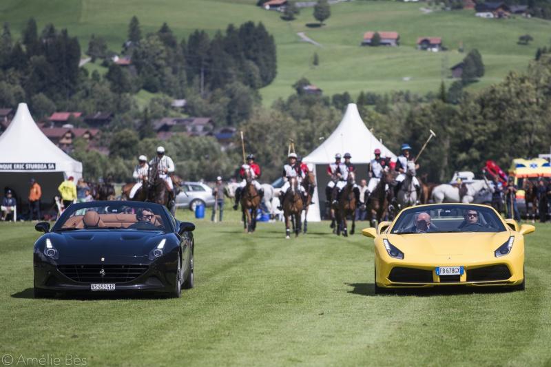 Hublot partenaire de Ferrari et du Polo à Gstaad