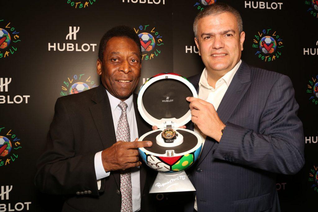 Le Roi Pelé et Ricardo Guadalupe