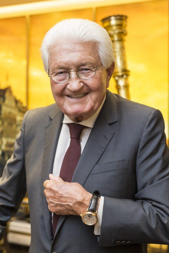 Monsieur Jörg G. Bucherer, Président de Bucherer