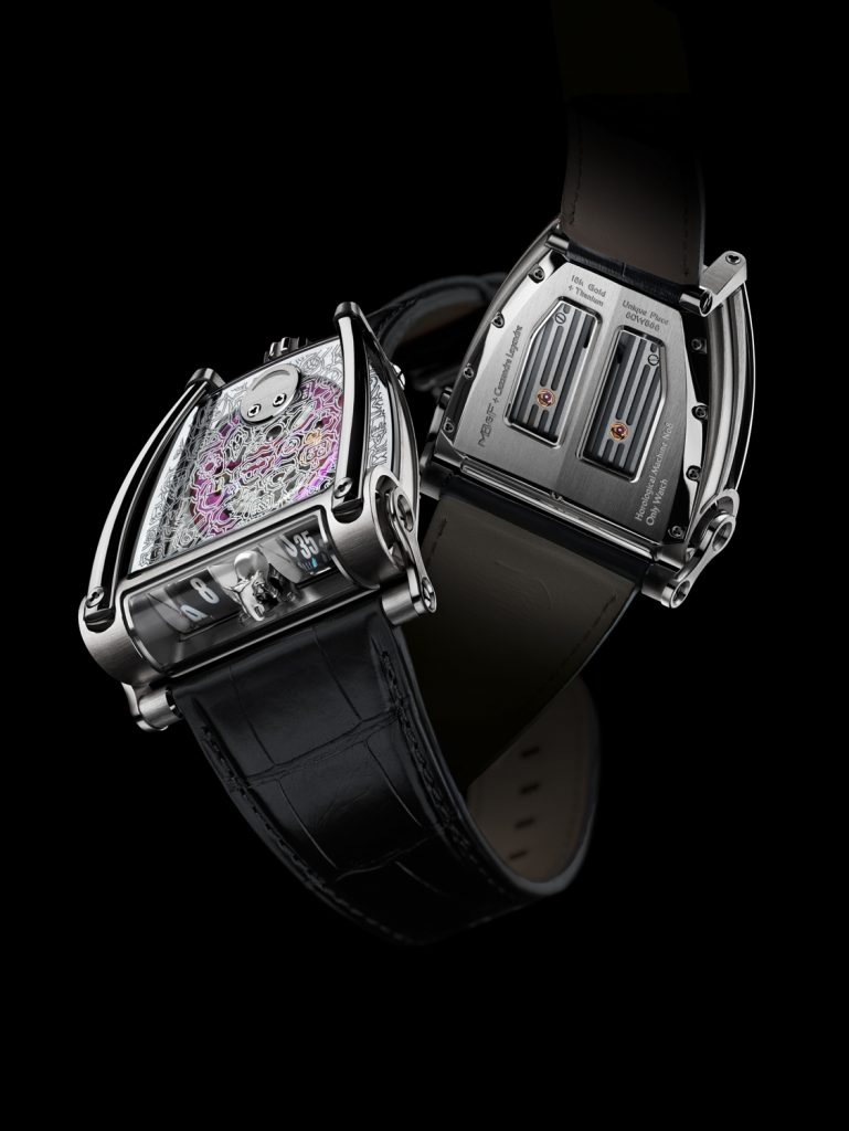 MB&F - HM8 Only Watch avec Cassandra Legendre