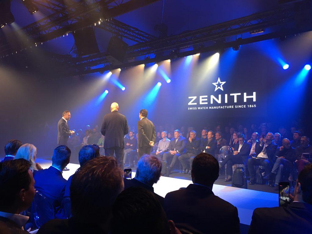 Présentation de la Zenith Defy Lab au Locle - Suisse