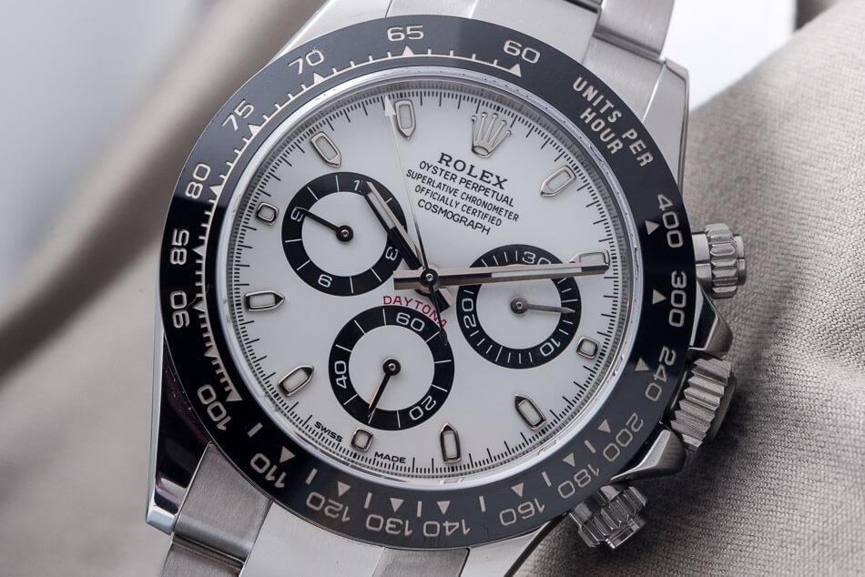 Rolex Daytona cadran blanc - ©Chrono24