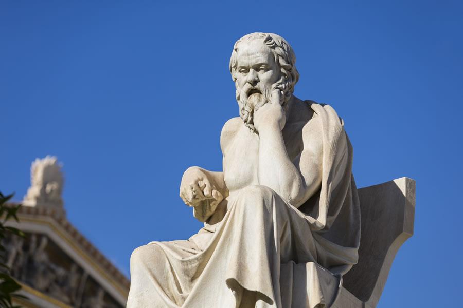Socrates, philosophe et homme politique Grec