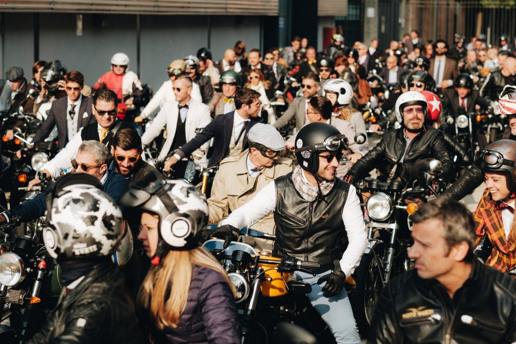 Participants au Zenith Distinguished Gentleman's Ride