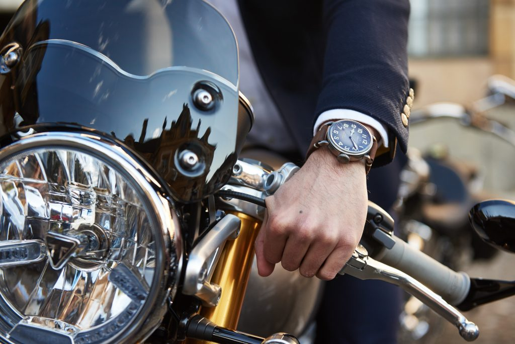 Zenith Pilot au Distinguished Gentleman's Ride