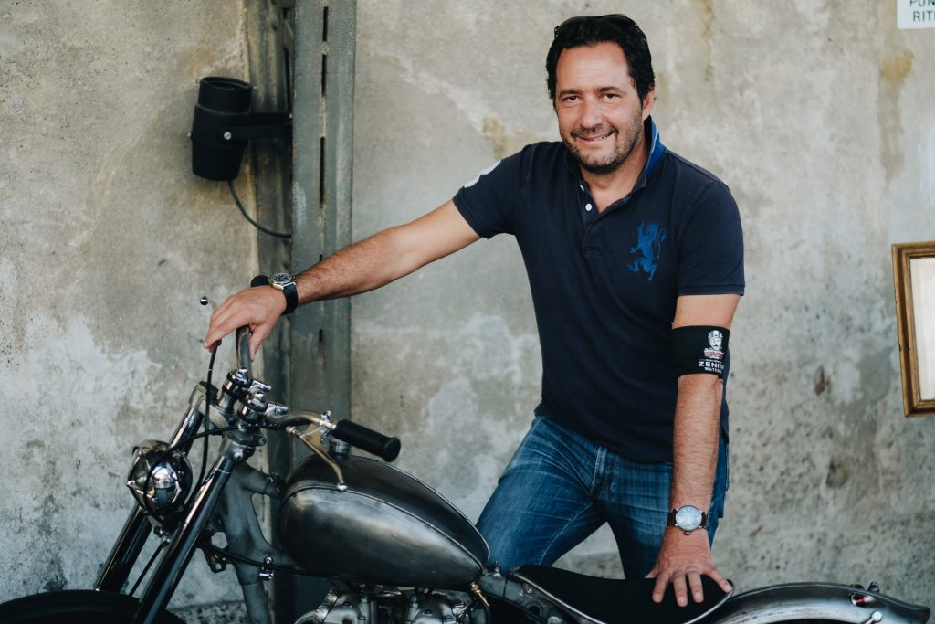 Julien Tornare, CEO de Zenith au Distinguished Gentleman's Ride