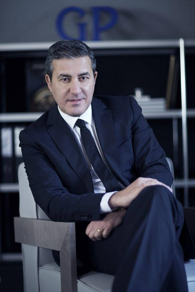 Antonio Calce, CEO de Girard-Perregaux et JEANRICHARD