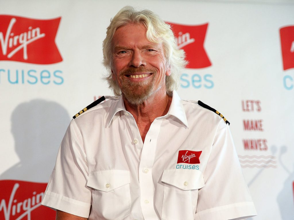 Richard Branson, fondateur de Virgin