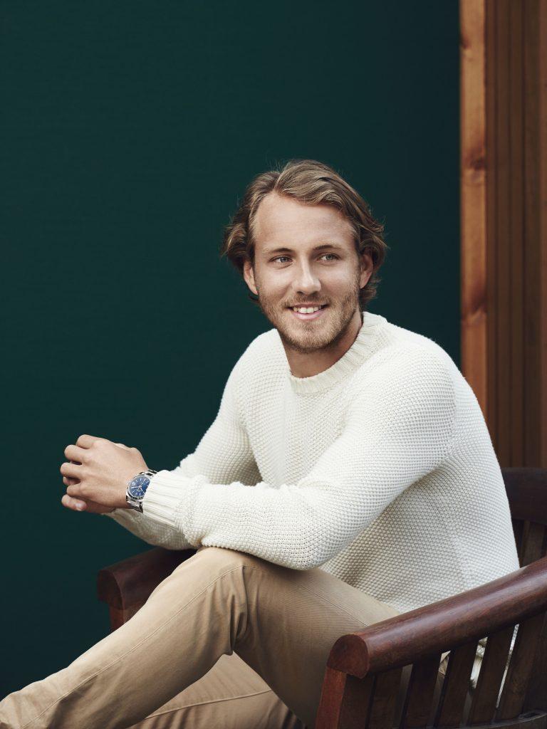 Lucas Pouille, témoignage Rolex