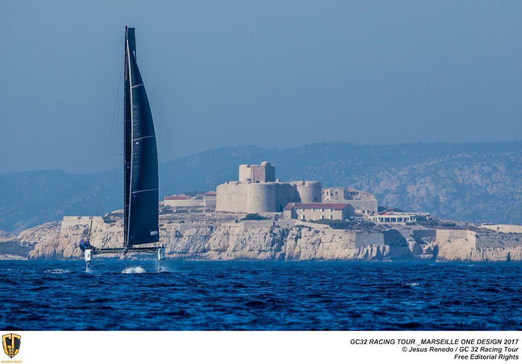 Régate autour des îles du Frioul © Jesús Renedo / GC32 Racing Tour