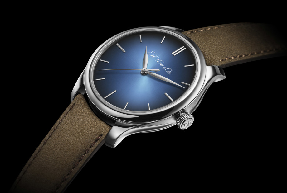 H. Moser & Cie Endeavour Centre Seconds Automatic bleue