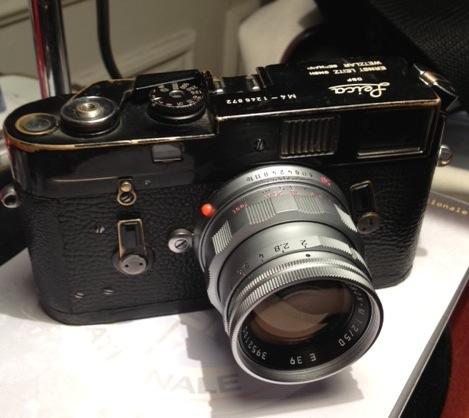 Passionné de photo, Stephan Ciejka collectionne les Leica