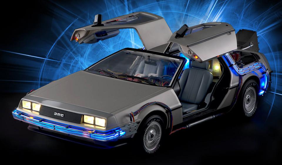 DeLorean DMC-12 modifiée de Retour vers le Futur