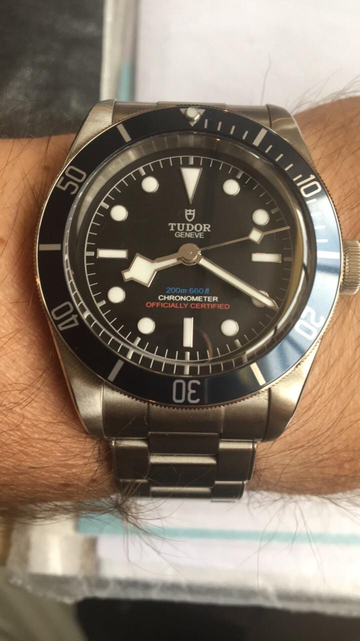 Tudor Heritage Black Bay série limitée COS
