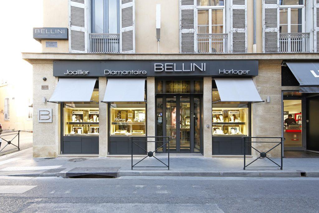 Bellini Aix-en-Provence, un nom, trois outiques