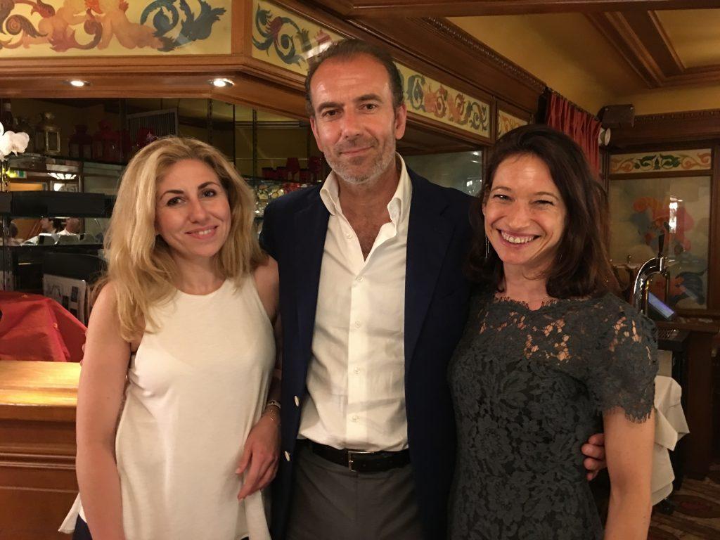 Mario Peserico bien entouré à l'occasion de la soirée Passion Horlogère pour les 130 ans d'Eberhard & Co