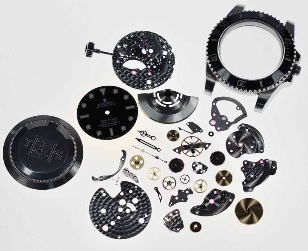 Ma Rolex Submariner 114060 déconstruite par The Naked Watchmaker