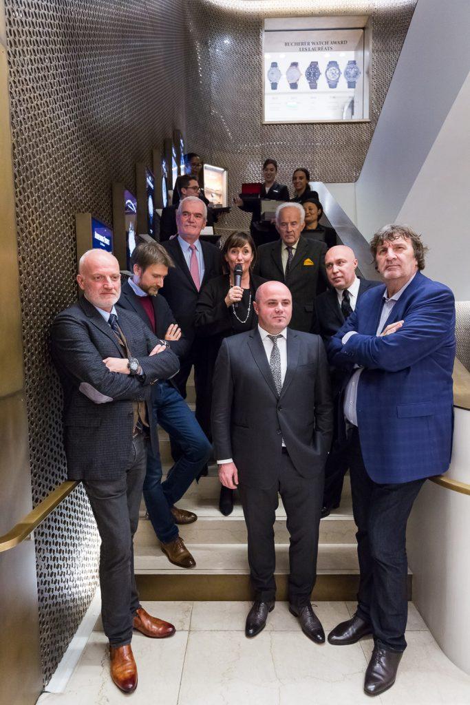 Le Jury 2018 du Bucherer Watch Award