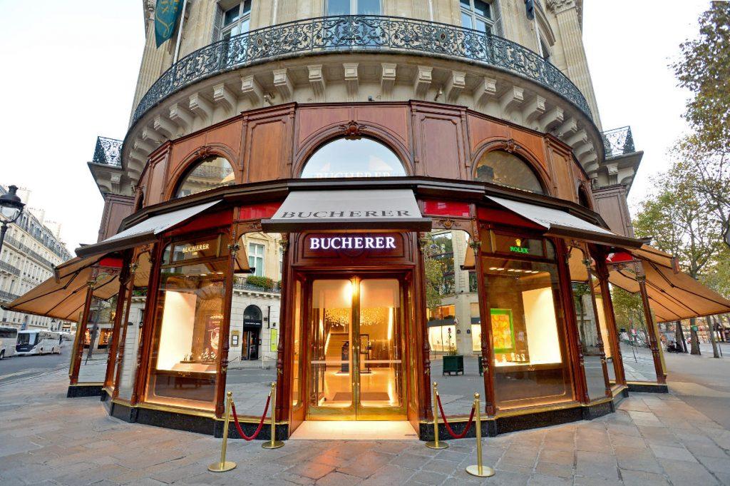 La boutique Bucherer de Paris