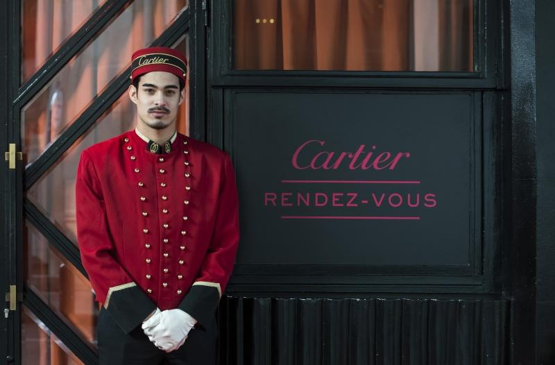 Le fameux liftier Cartier