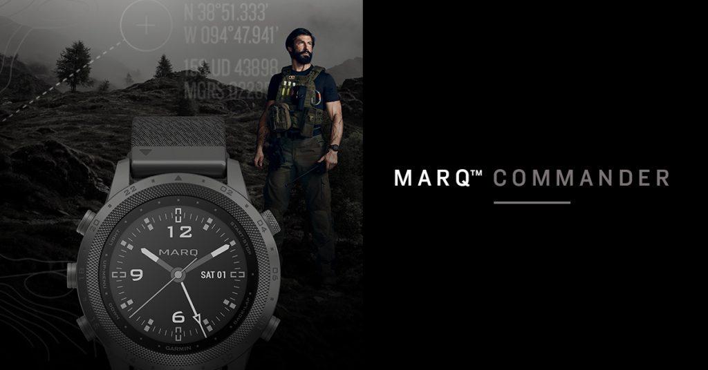 Garmin Marq Commander, une montre tactique pour les hommes d'action !