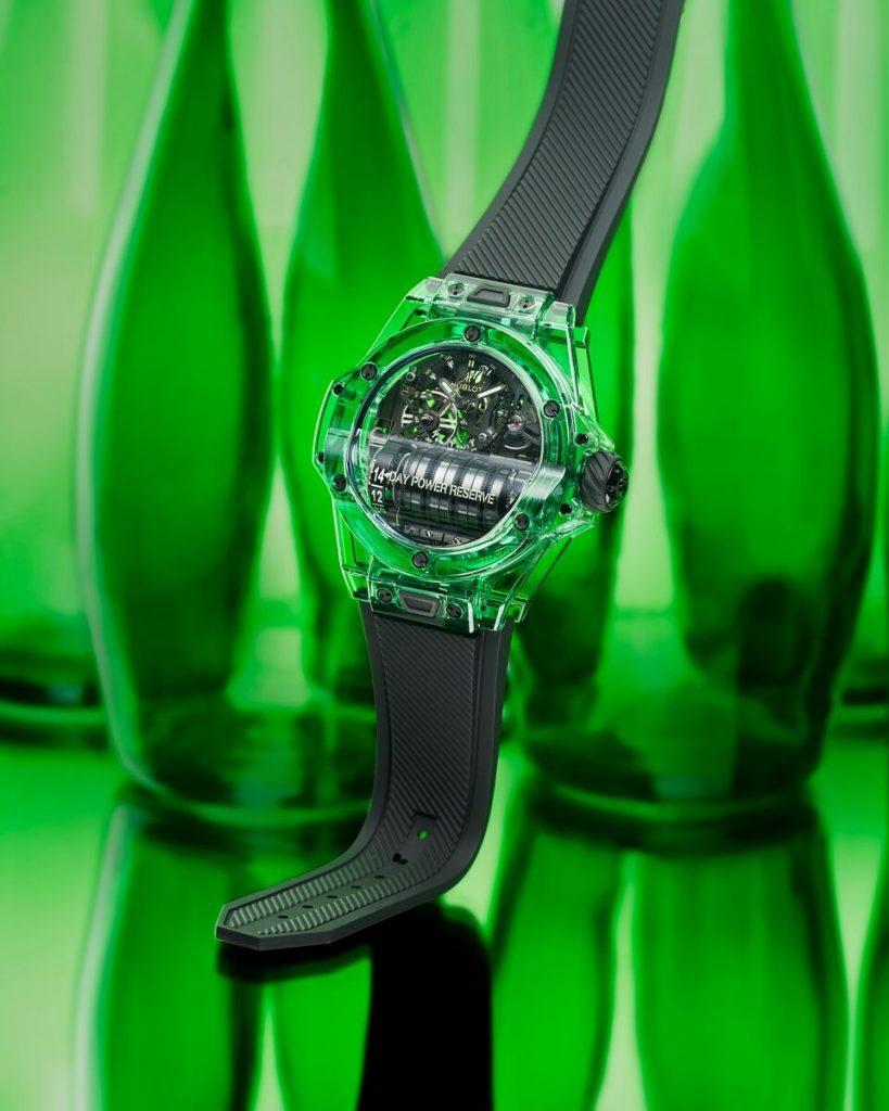 Couleur vert-bouteille pour la Big Bang MP-11 SAXEM