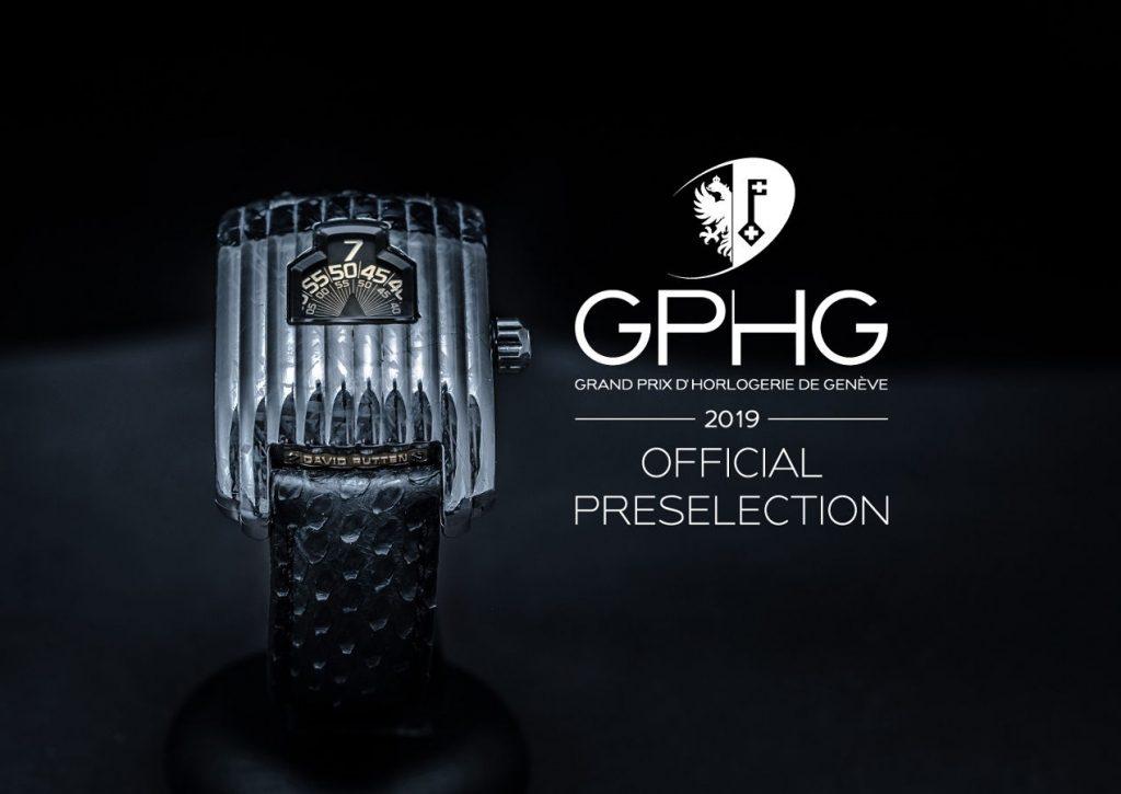 Présélection officielle au GPHG