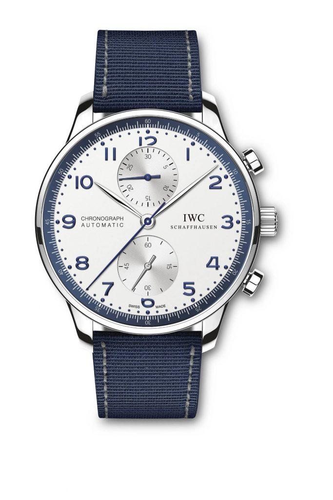 IWC Portugieser Chronograph Bucherer Blue