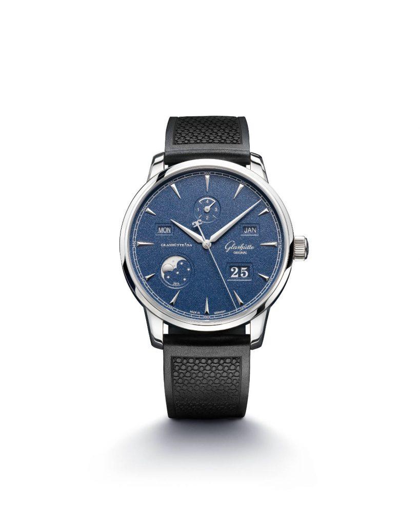 Glashütte Original Senator Excellence Calendrier Perpétuel Bucherer Blue