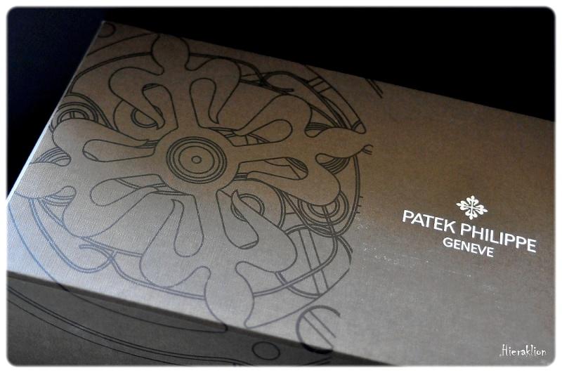 Boîte et surboîte de la Patek Philippe Aquanaut