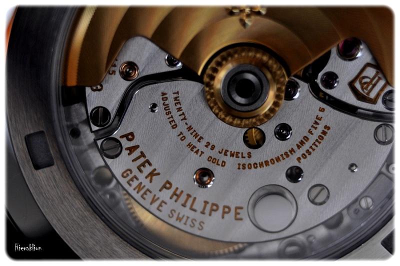 Vue sur le calibre 324 SC