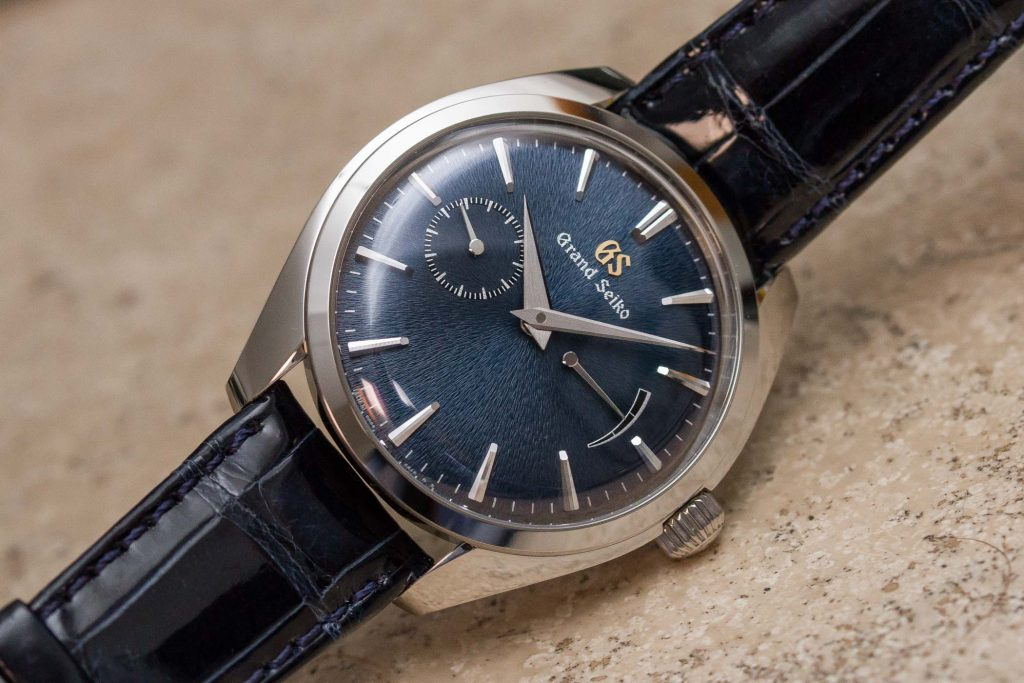Grand Seiko Elegance Acier SBGK005G - Photo Monochrome