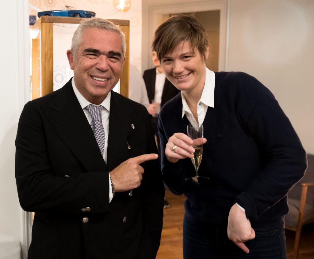 Laurent Picciotto et Sandie, passionnée d'horlogerie