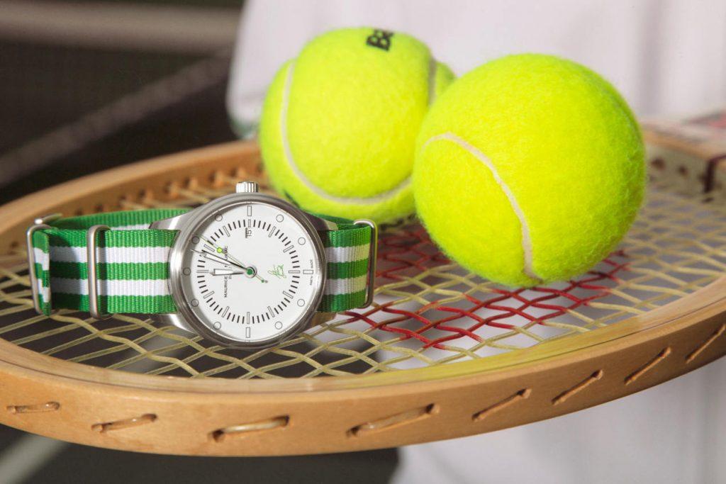 La montre Stan Smith Maurice de Mauriac est un véritable hommage au tennis
