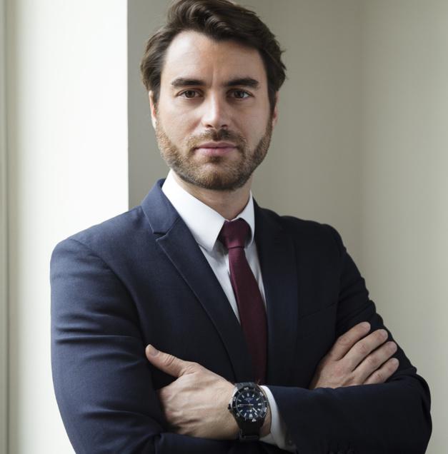 Yohan Bizy, PDG de Templus, importateur Frederique Constant en France