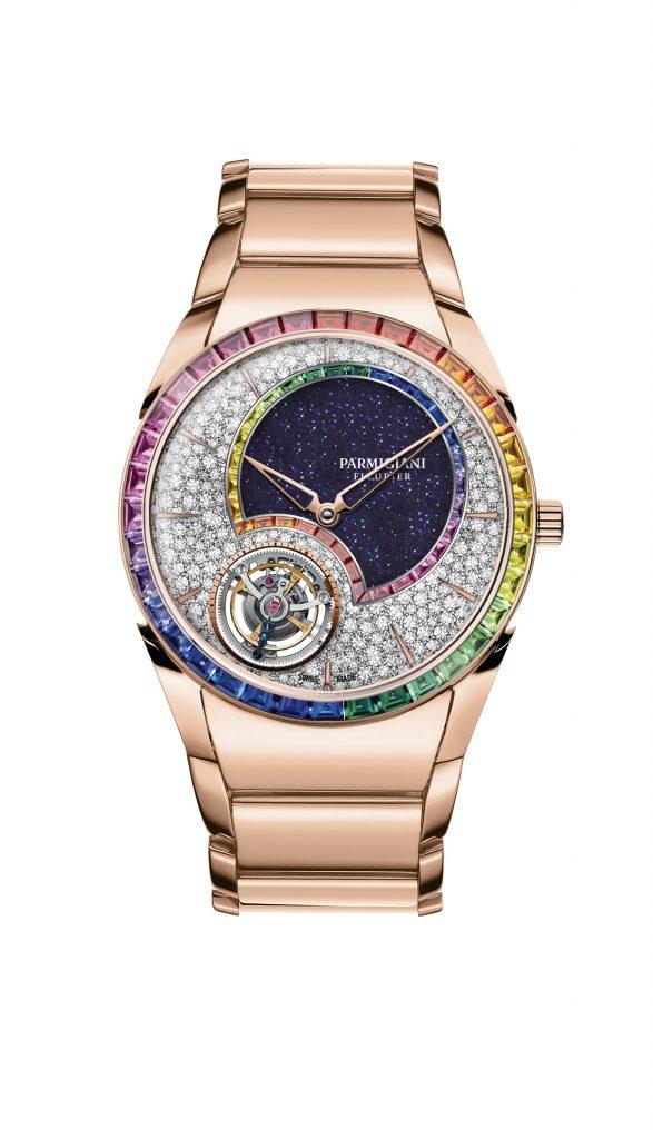 Parmigiani Fleurier présente la Tonda 1950 Tourbillon Double Rainbow - Passion Horlogère