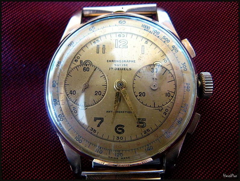 Chronographe Suisse Vintage
