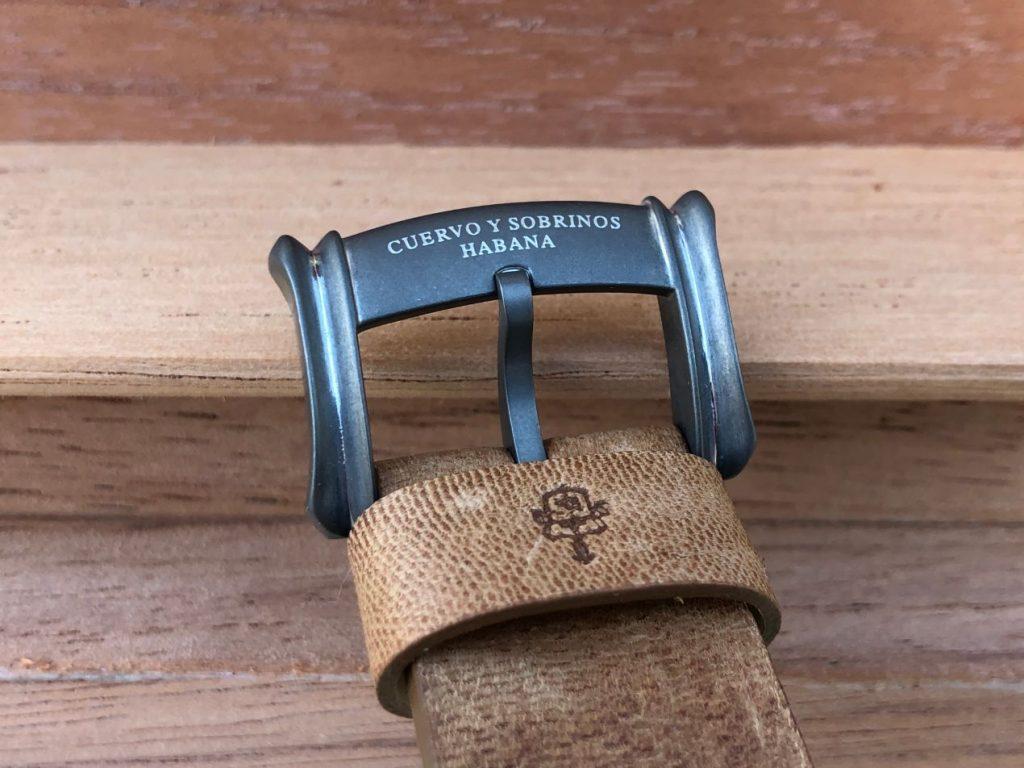 La boucle ardillon en acier de la Domingo Rosillo