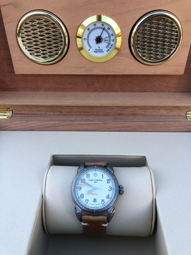 Tout l'esprit de La Havane concentré en une montre !