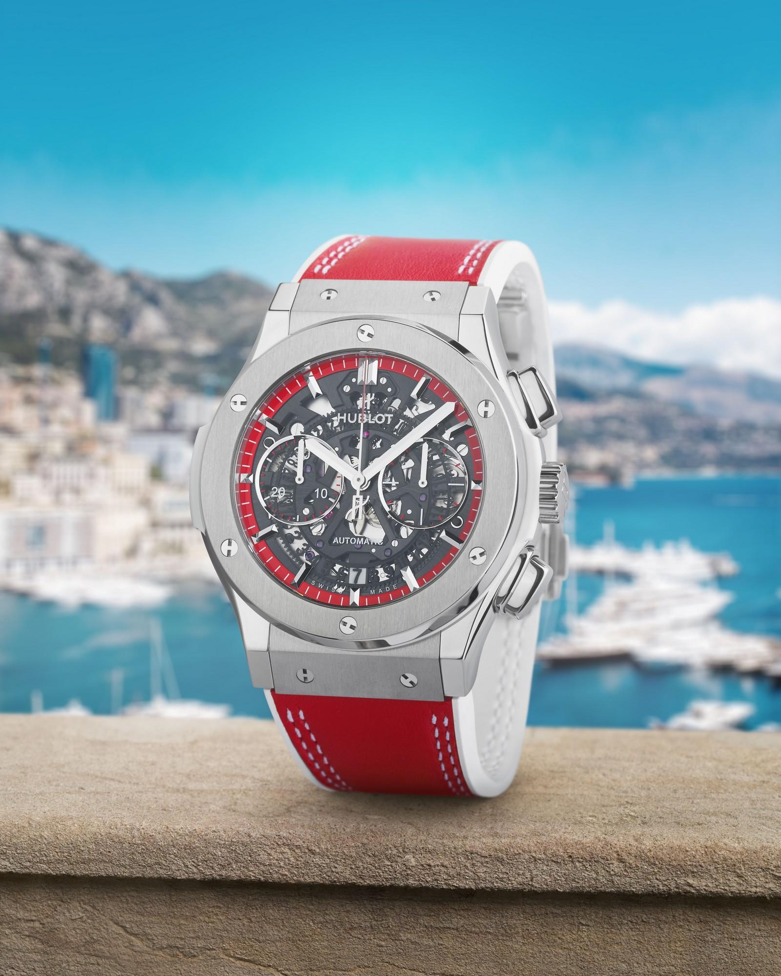 Hublot présente la Classic Fusion Aerofusion Chronograph Special Edition 'Boutique Monaco'