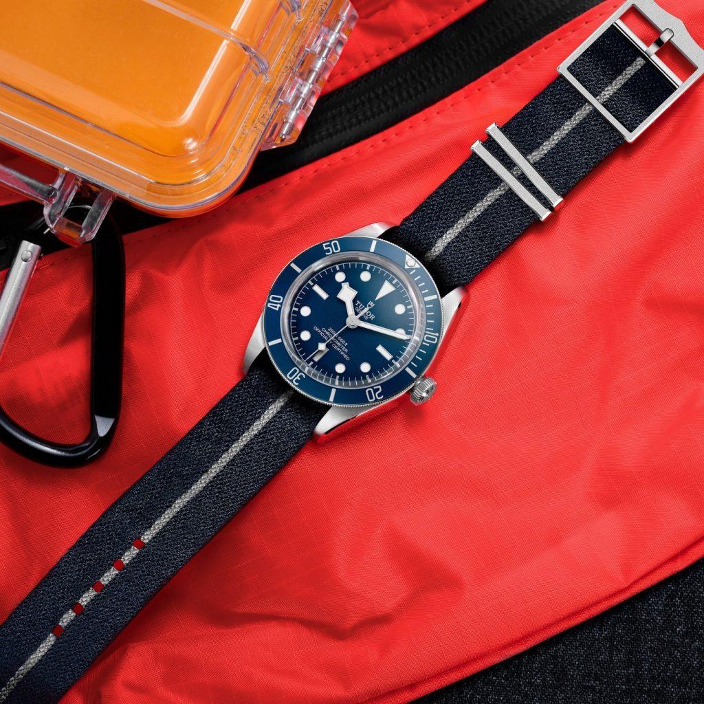 Tudor Black Bay Navy Blue