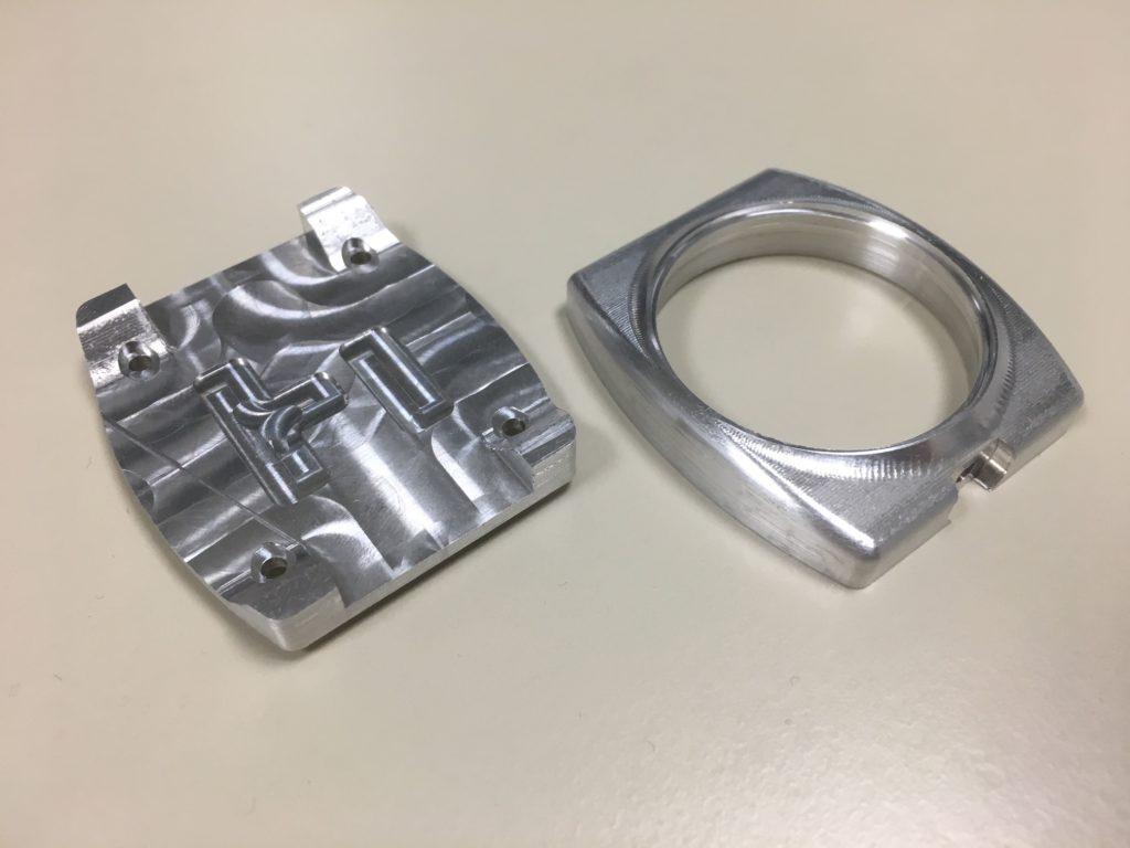 Le boîtier d'Hélios en aluminium