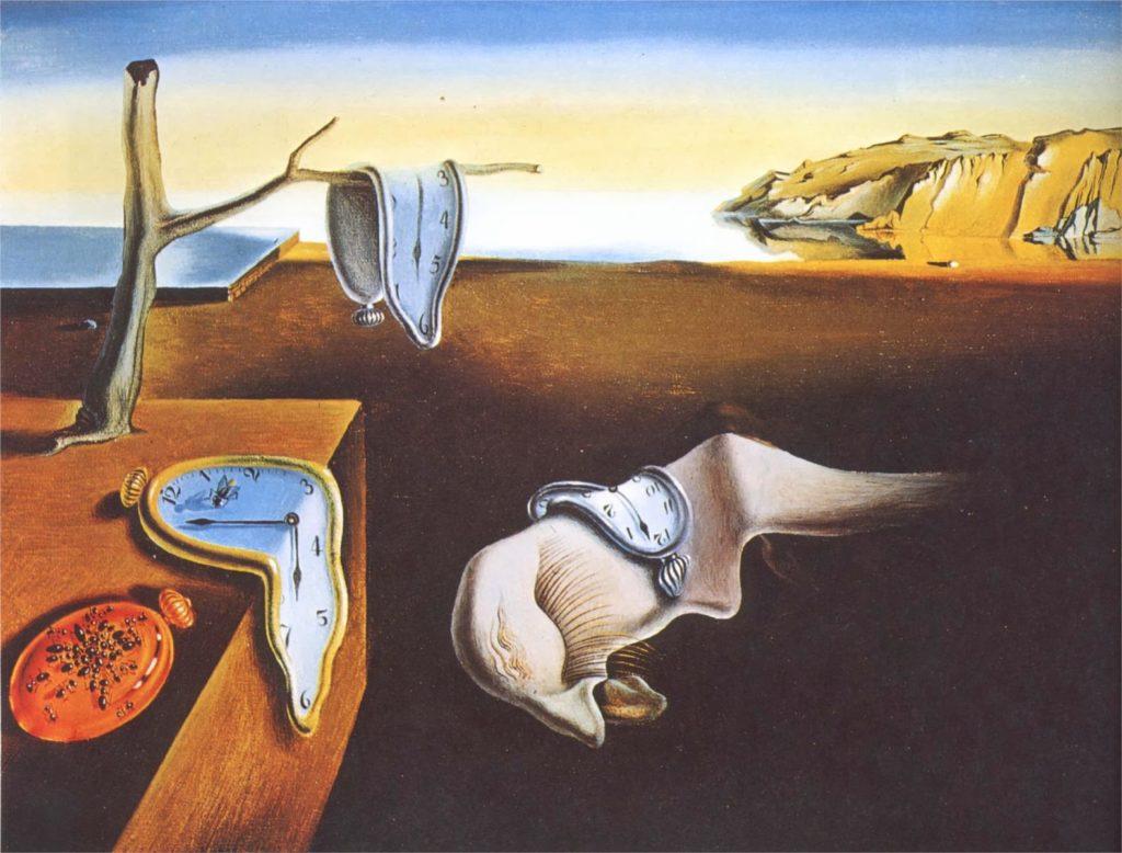 Persistance de la mémoire - Dali - Source Internet