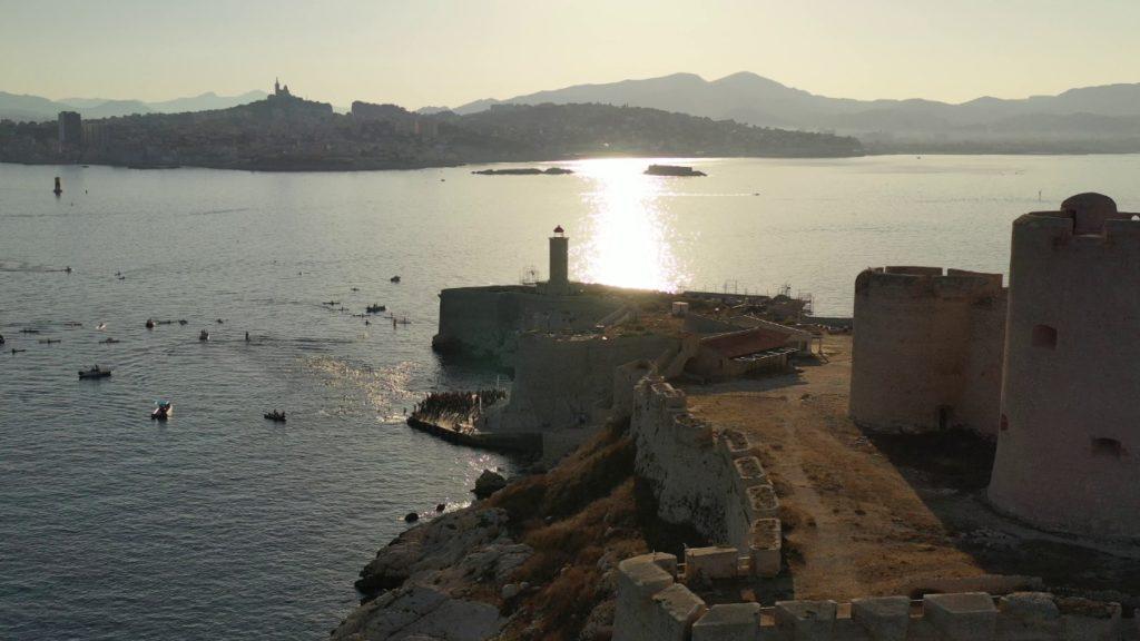 Un cadre exceptionnel entre le Château d'If et Marseille