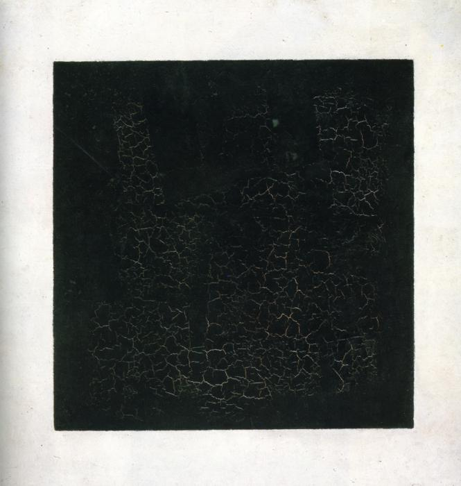 Carré noir sur fond blanc, l'œuvre majeure de Malevitch