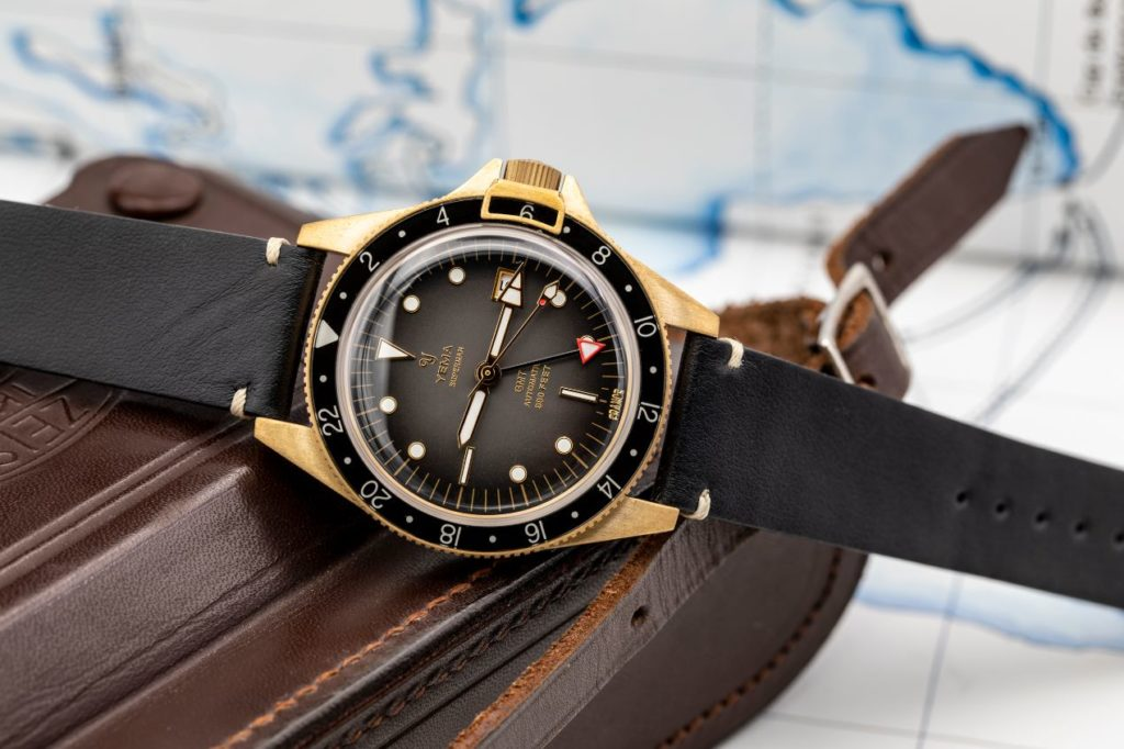 Yema Superman Bronze GMT Black
