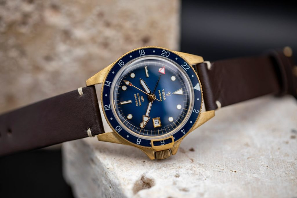 Yema GMT Bronze Blue