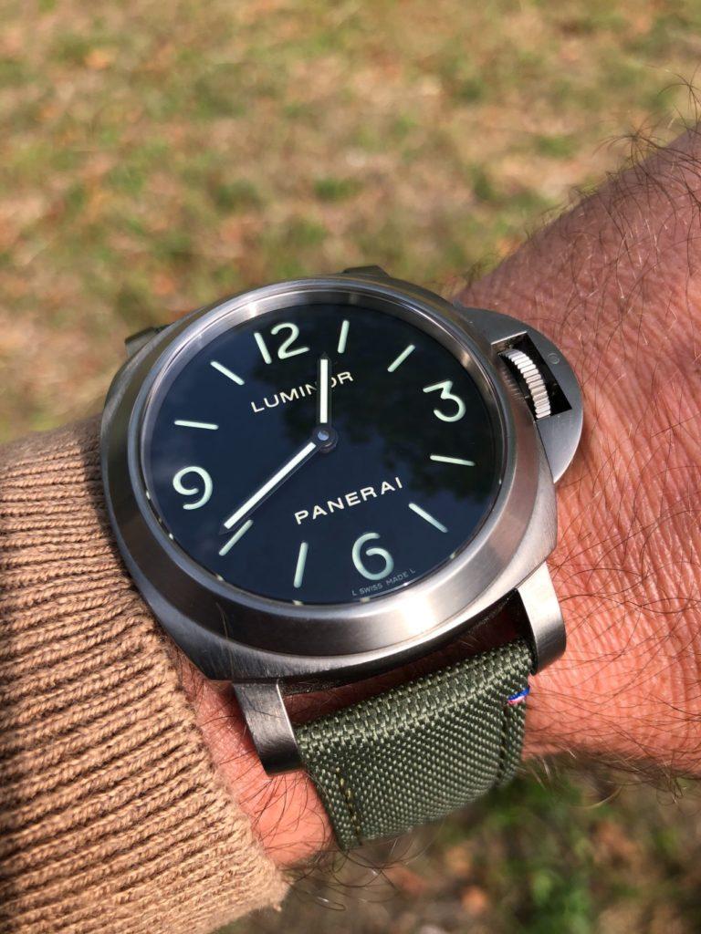 Notre PAM 176 renoue avec le style Tool Watch des Panerai d'origine